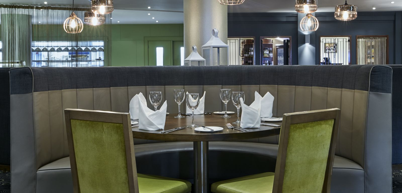 Private dining at Crowne Plaza Belfast