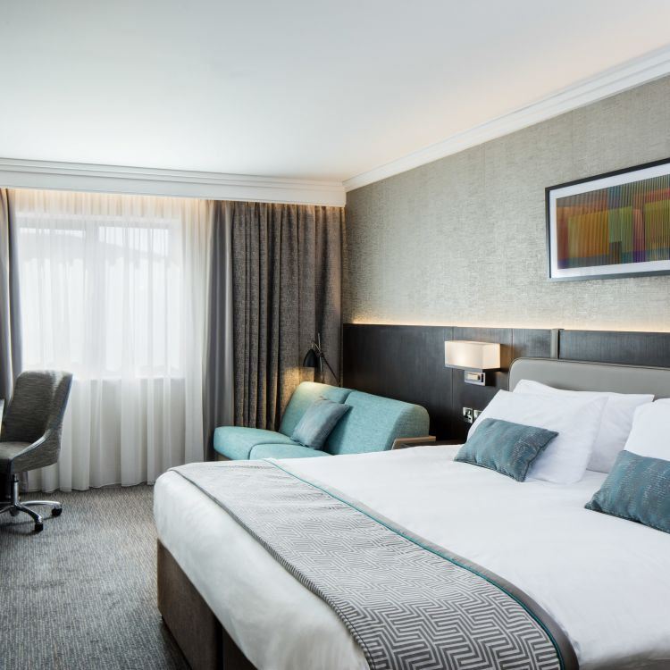 New luxurious family bedroom at Crowne Plaza Belfast