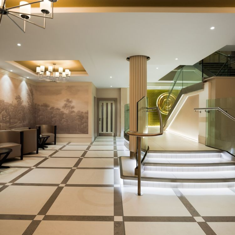 The Laganview Entrance area at Crowne Plaza Belfast