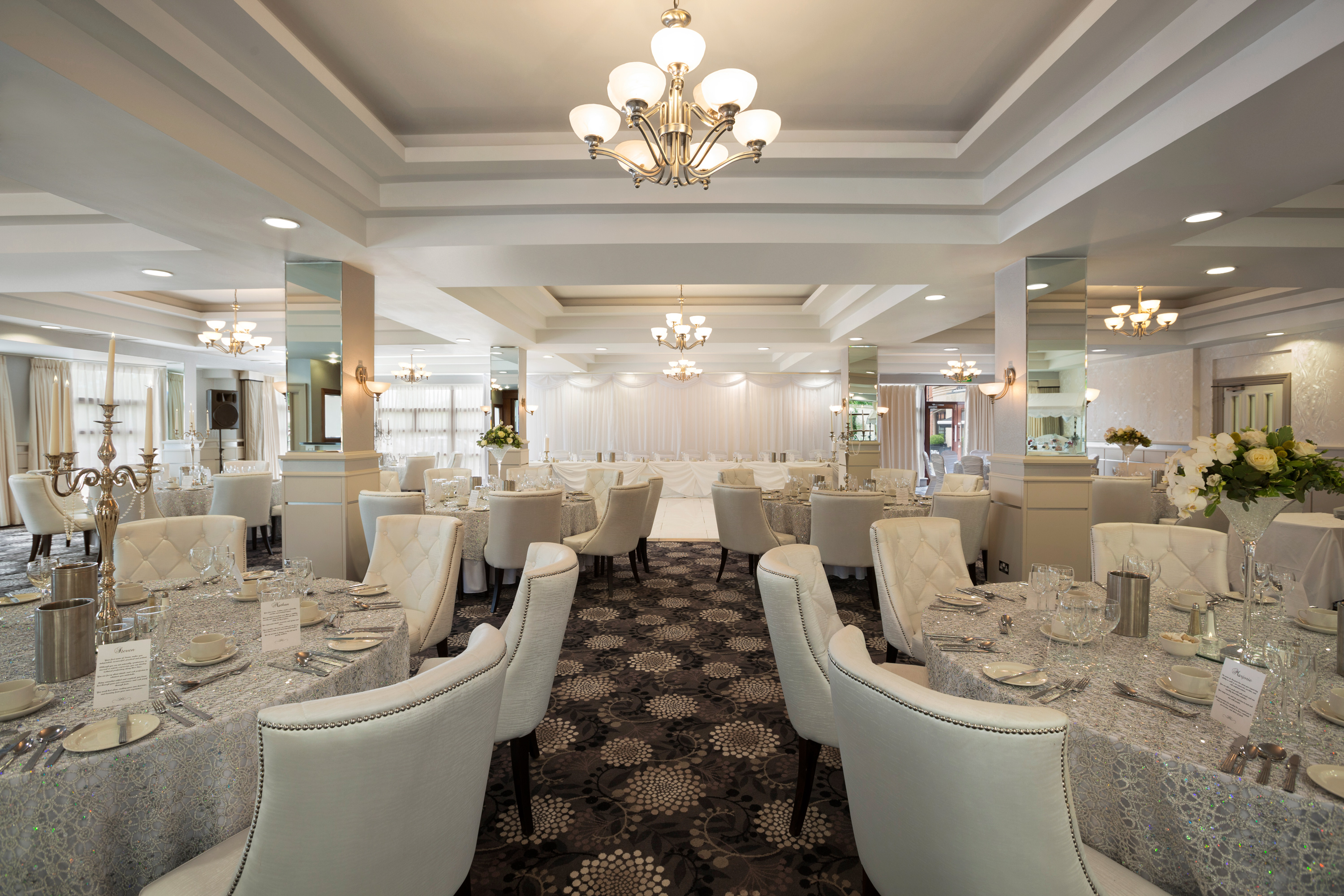 The Laganview Suite ground floor wedding reception