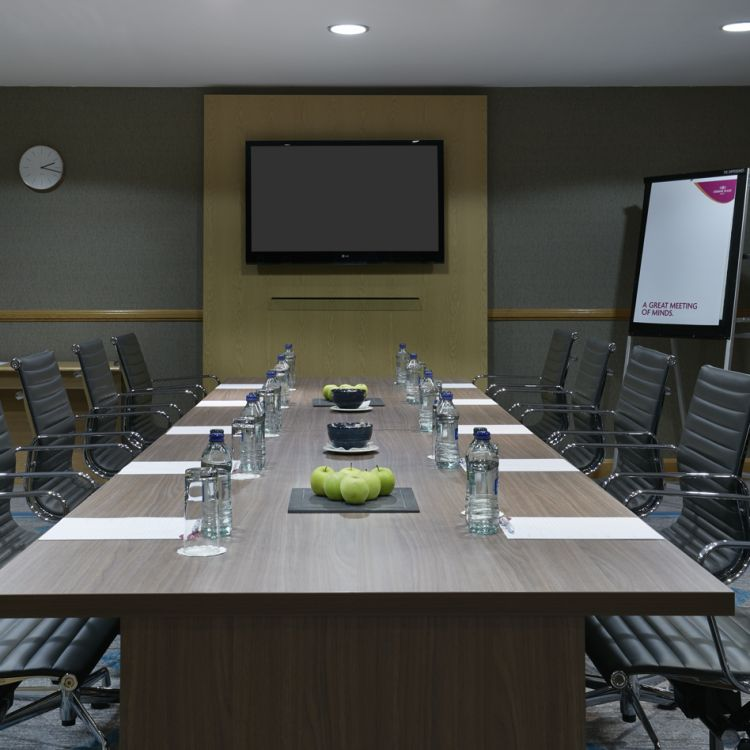 The Boardroom meeting room in the Great Oak Conference Centre Belfast
