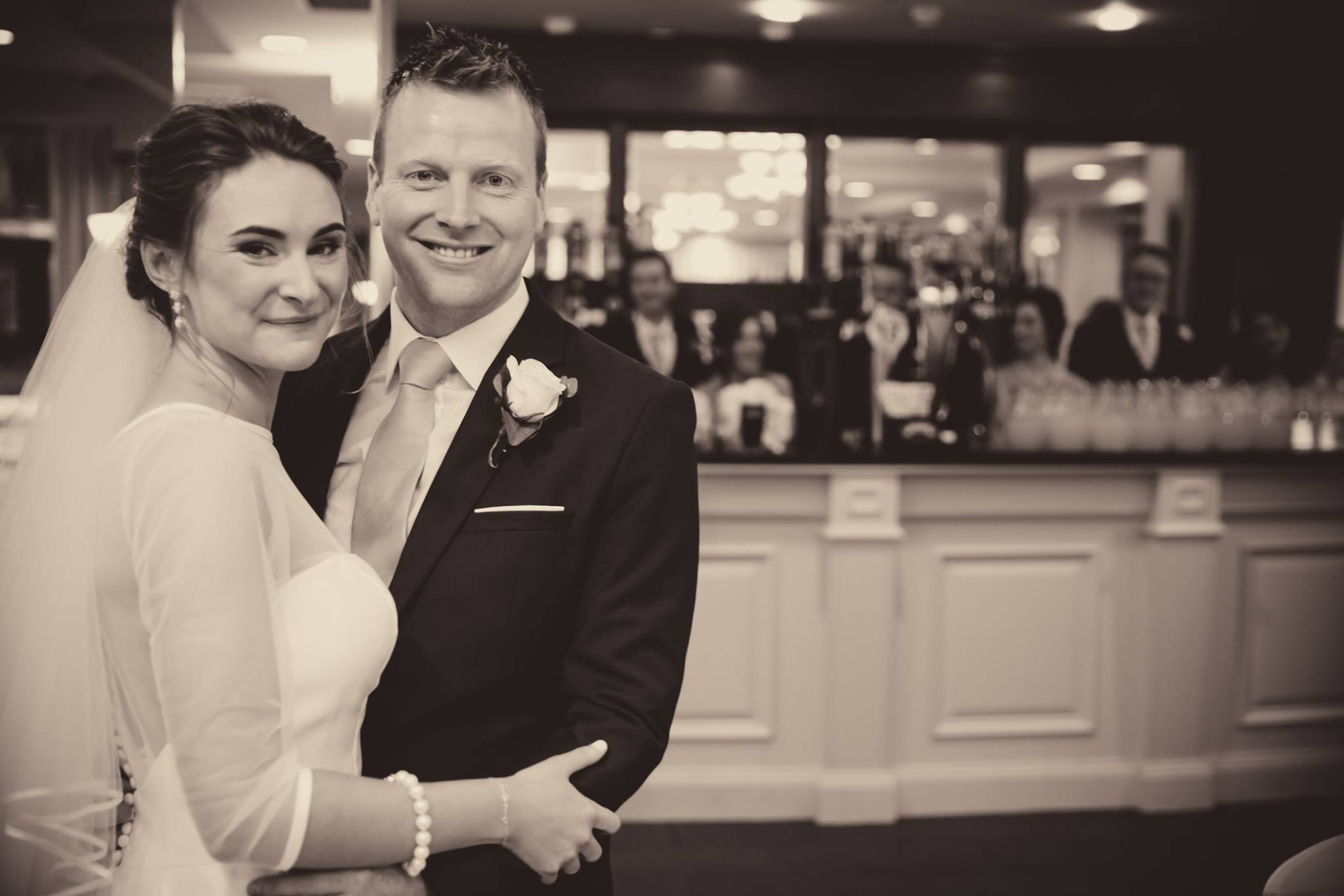 Clare and Emmett Rea wedding at Crowne Plaza Belfast